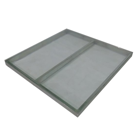 piso vidrio transparente 1x1