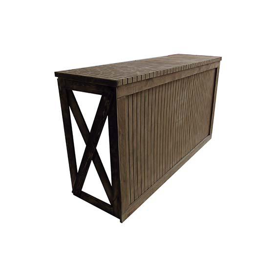 Alquipanel barra rustica bar for Bar madera rustica